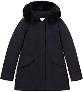 WOOLRICH Parka Donna Luxury Artic Parka Fox WWOU0323100 Nero