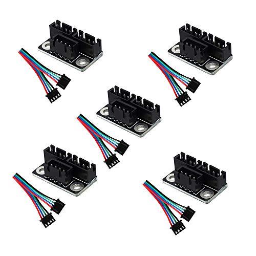 ZkeeShop, modulo parallelo per stampante 3D con cavo compatibile per motori passo-passo a doppio asse Z Dual Z, Reprap Prusa Lerdge, accessori e parti