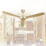 DS - Ventilador de techo con ventilador de techo de madera Ventilador de techo de ingeniería industrial de 56 pulgadas