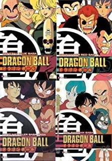 Dragon Ball Dragonball Saga 4 5 6 7 DVD Collection 4 Pack (General Blue Saga, Commander Red Saga, Fortune Teller Baba Saga, Tien Shinhan Saga)