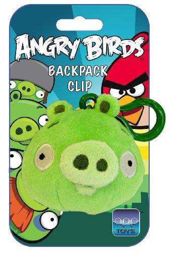 Angry birds - 2261 - Peluche - Cerdo verde , color/modelo surtido