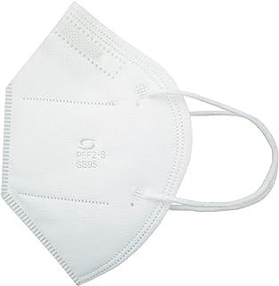Respirador Pff2 Branco Sem Valvula Kit Com 10 Unidades