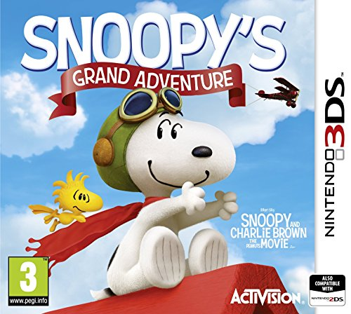 Peanuts Movie: Snoopy's Grand Adventure (Nintendo 3DS) - [Edizione: Regno Unito]