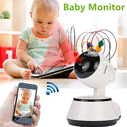 ZTKBG Baby-monitor IP-camera radio video Nanny Elektronische draadloze wifi Home Security Camera Webcam 720PHD netwerk, 128g
