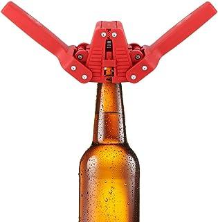 【スクールシーズン 特別プロモーション】 キャッパービール瓶、プラスチック製手動ビール瓶キャッパーシーラーシーリング自作ビール醸造設備