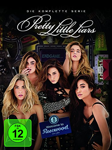 Pretty Little Liars - Staffel 1-7 (Limited Edition) (exklusiv bei Amazon.de) (37 DVDs)