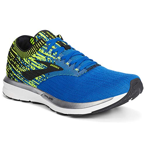 Brooks Ricochet, Zapatillas de Running para Hombre, Multicolor (Blue/Nightlife/Black 429), 43 EU
