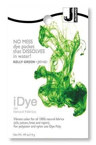 Kelly Green Jacquard iDye Fabric Dye 14 Grams IDYE-421