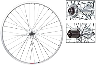 Wheel Master Front And Rear Bicycle Wheel Set 26 x 1.5 36H, Alloy, Quick Release, Silver