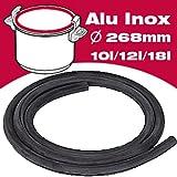 Seb SEB0138 Auto Cuiseur Joint Joint pour Autocuiseur Aluminium/Inox Seb Actua Inox 10/12/18 L
