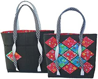 Twist 'N Shop Tote Pattern for Eazy Peazy Quilts
