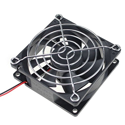GDSTIME 80mm x 80mm x 25mm 12V Brushless DC Cooling Fan
