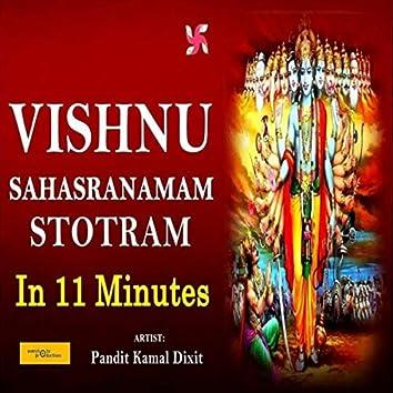 Vishnu Sahasranamam Stotram In 11 Minutes