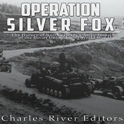 Operation Silver Fox audiobook cover art