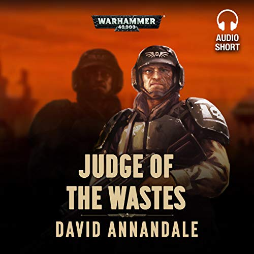 Judge of the Wastes audiobook cover art