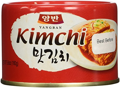 Cabbage Kimchi in can(Tasteful Kimchi) 5.6 Ounce