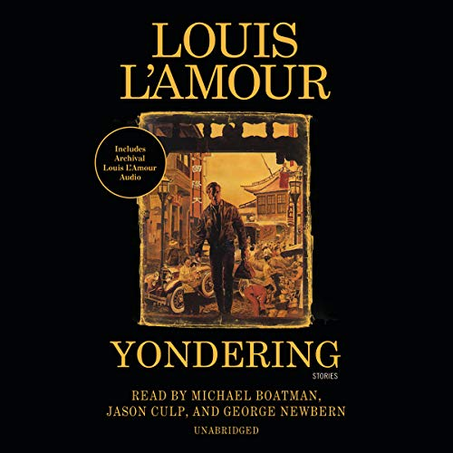 Yondering audiobook cover art