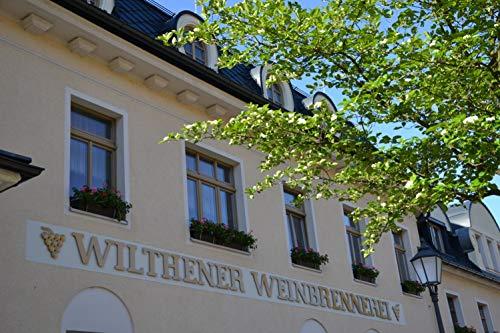 Wilthener Feiner Alter Weinbrand 36% vol., Brandy in V.S.O.P.-Qualität, in Limousin-Eichenholzfässern gelagert (1 x 0.7 l) - 6
