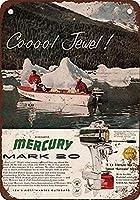Mercury Mark Boat Motors ティンサイン ポスター ン サイン プレート ブリキ看板 ホーム バーために