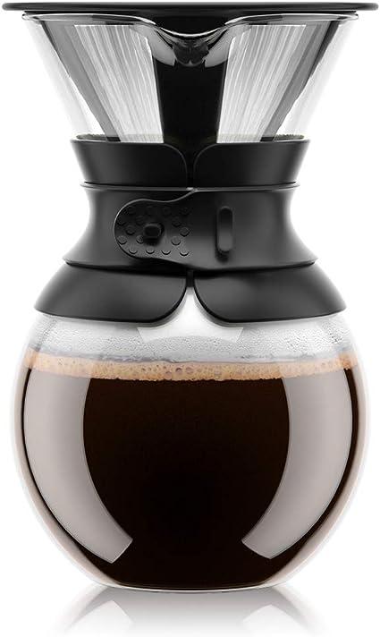 -Bodum Pour over Cafetière, permanente filter, vaatwasmachinebestendig-aanbieding