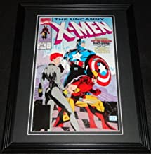 Uncanny X Men #268 Capt America Framed Cover Photo Poster 11x14 Official Repro
