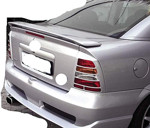 Alerón Trasero Spoiler de ABS para Opel Astra G Coupe 1999-2004, Accesorios de Modificación del Alerón del Maletero, Duradero, Brillante