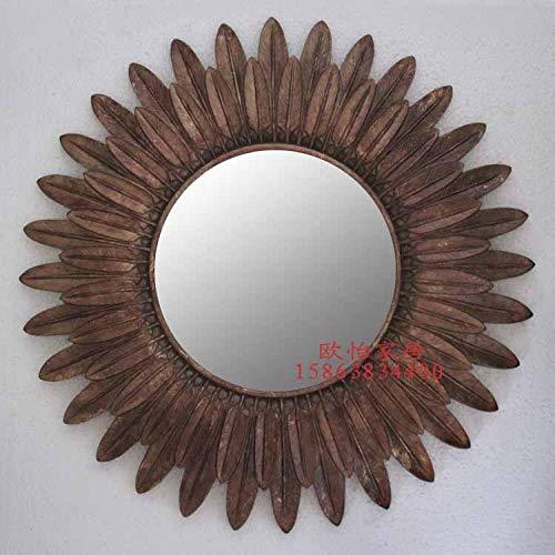 YBGW Wandspiegel Dekoration Dekorativer Spiegel Sonnenbrille Veranda Spiegel Wandspiegel Badezimmerspiegel Kamin Rückwand Dekorativer Spiegel