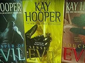 Author Kay Hooper Three Book Bundle Includes: Touching Evil - Sense of Evil - Whisper of Evil