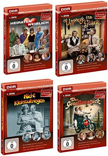 Best Of - Defa FERNSEH - SCHWANK EDITION 1975 - 1985 Lustspiel Sammlung 4 DVD Collection DDR TV-ARCHIV Limited Edition