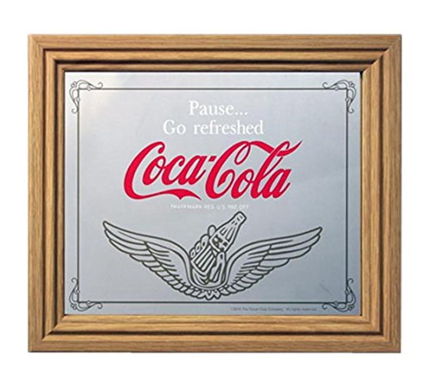 わかる塩誕生コカコーラ ミラー?鏡 ミラー 35×30×2.5cm