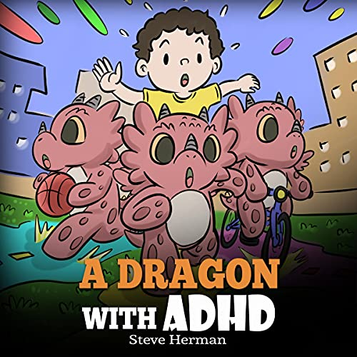 A Dragon With ADHD cover art