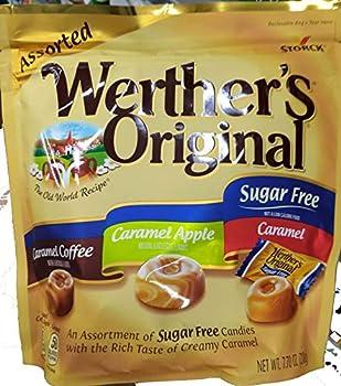 Werther s original sugar free assorted 7.7oz pack of 1