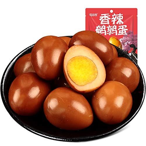 蜀道香 香辣??蛋 Spicy Quail Eggs ウズラ卵 120g