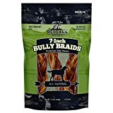 Redbarn 7' Braided Bully Sticks for Dogs. Natural, Grain-Free, Highly...