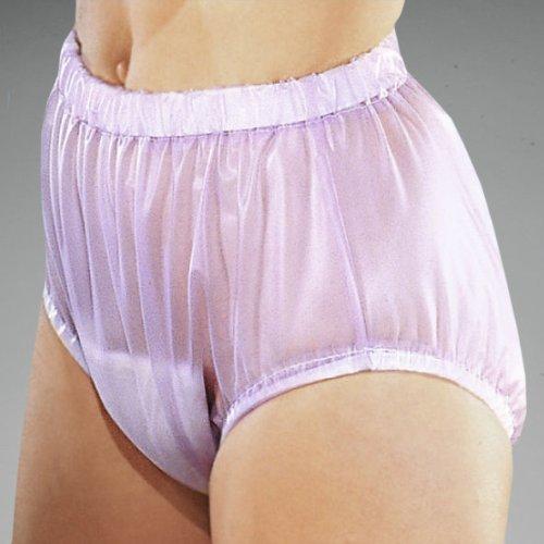 Suprima PVC Inkontinenz Slip Schlupfform Art. 1-211-011 (unisex) - Gr. 48 - transparent-blau