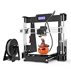 Easy installation, 5 keys 2004 LCD screen display, easy control, smart board, pause at anytime, best budget for DIY lovers High compatibility: supporting XYZ printing bio-degradabl and multiple filaments like ABS/PLA/HIP/PRTG/TPU/Wood/Nylon/PP etc Cu...