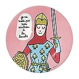 Petit Jour Paris - Plato de postre Princesa 'je ne mets pas mon couteau …' - perfecto para el postre!