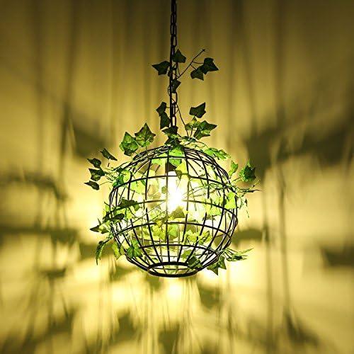 Ehime Restaurant Lustre Moderne Simple Créatif Personnalité Rétro Café Bar Allée Plante Lumières Lampes De Fer