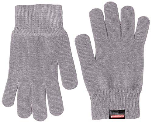 [ミズノ] アウトドアウェア ブレスサーモ インナーグラブ 手袋 フィット感 吸湿発熱 A2JY4512 メンズ グレー S