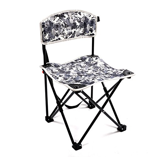MAZHONG Tabourets Camping pliant extérieur camping chaise pliante portable siège de pêche chaise (Couleur : A)