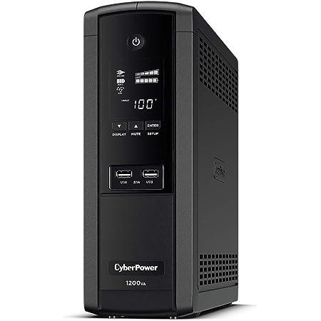 CyberPower 無停電電源装置 (ラインインタラクティブ給電/正弦波出力) 1200VA/720W CPJ1200