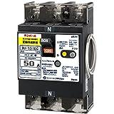 テンパール工業 単3中性線欠相保護付配線用遮断器50A リード線付 BU5301EC50V