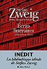 Écrits littéraires : D'Homère à Tolstoï par Zweig