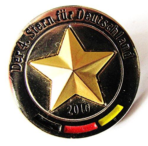 Bitburger Brauerei - Der 4. Stern für Deutschland 2010 - Pin 20 mm