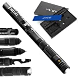 Gifts for Dad Men Husband,Tactical Pen,LED Tactical Flashlight,Cool Anniversary Birthday Gifts Ideas Gadget for Dad,Emergency Tool Survival Gear Kit,Gift Box(2020 UPGRADE)