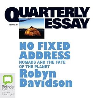 Quarterly Essay 24: No Fixed Address cover art