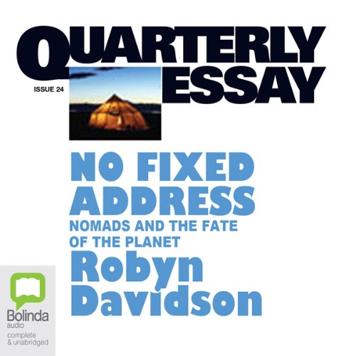 Quarterly Essay 24: No Fixed Address cover art