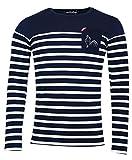Religion Rugby - T-Shirt de Rugby Grand Cru Marinière - ML - 4XL