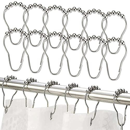 El Mejor Listado de Anillos con bolas para cortinas de ducha para comprar online. 9