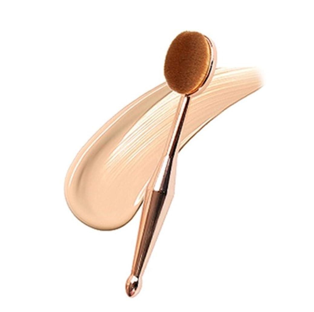 告白する束ねる移動する化粧ブラシ 化粧筆 歯ブラシ型メイクブラシ ファンデーションブラシ フェイスブラシ 化粧ブラシ (1枚セット)